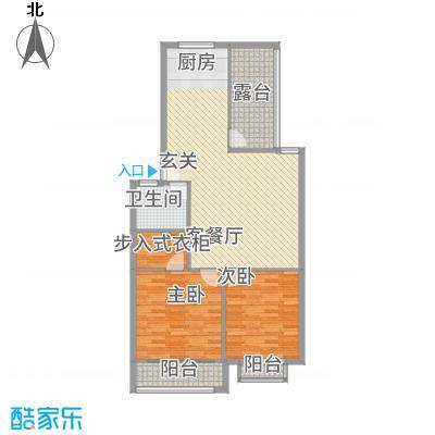 鑫地・阳光城114.50㎡1户型2室1厅1卫1厨