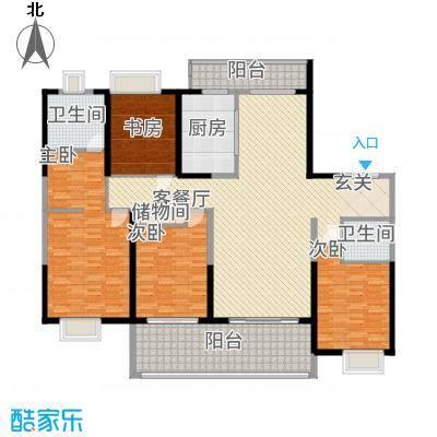 紫薇永和坊28.00㎡户型4室