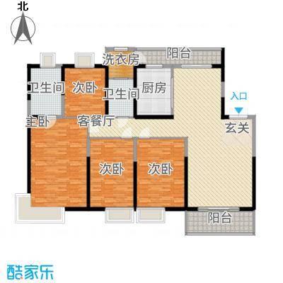紫薇永和坊15.00㎡户型4室