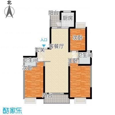 紫薇永和坊173.00㎡户型3室