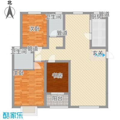 贻成・御景国际13.00㎡C户型3室2厅2卫