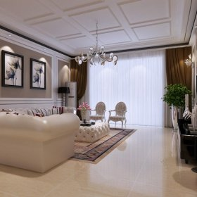 欧式欧式风格客厅三居装修图