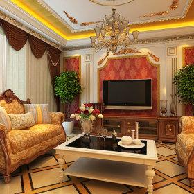 客厅吊顶沙发图片