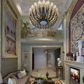 法式法式风格客厅装修效果展示