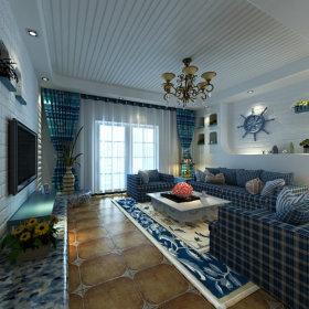 地中海客厅设计案例展示