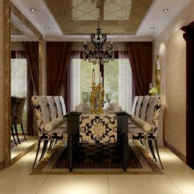 欧式古典欧式古典风格古典风格餐厅装修图