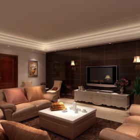 欧式电视背景墙装修图