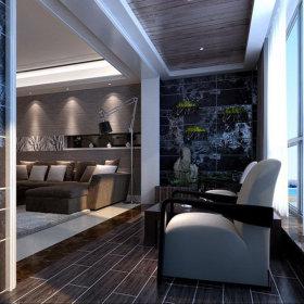 欧式阳台沙发设计案例展示