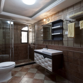 混搭卫生间装修案例