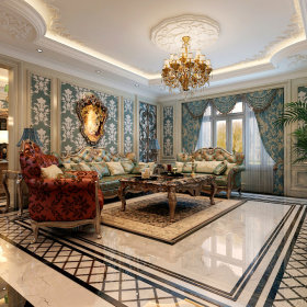 法式法式风格客厅效果图