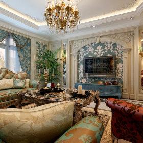 法式法式风格客厅设计案例