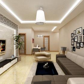 简约简约风格客厅设计方案