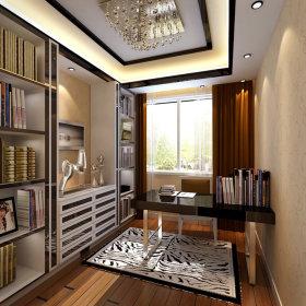 现代现代风格书房单身公寓案例展示