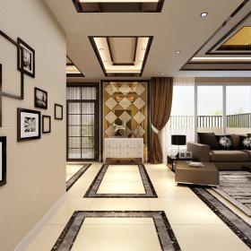 现代现代风格客厅单身公寓设计图