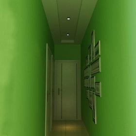 现代现代风格过道墙面设计方案