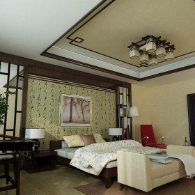 中式中式风格三居设计案例展示