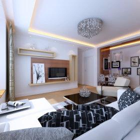 现代简约现代简约客厅设计方案