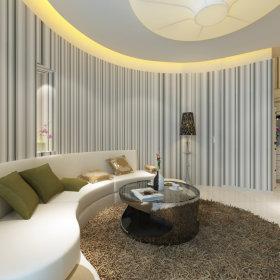 现代客厅一居室装修案例