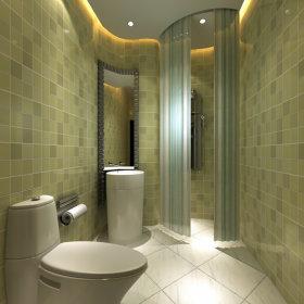 现代卫生间一居室吊顶设计案例