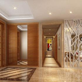 现代简约现代简约走廊设计方案