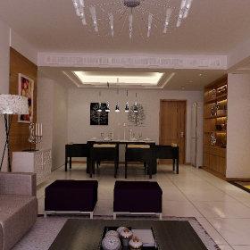 现代客厅跃层设计方案
