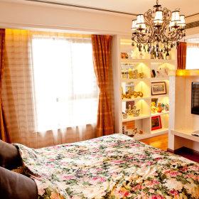 现代卧室窗帘案例展示