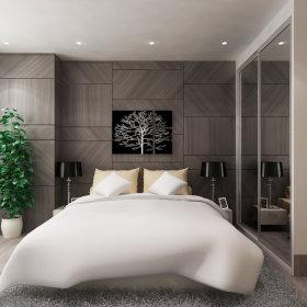 现代卧室跃层设计案例展示