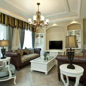法式客厅装修图