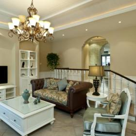 法式客厅装修案例