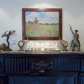 新古典古典新古典风格古典风格客厅设计案例展示