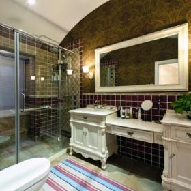 法式卫生间装修案例
