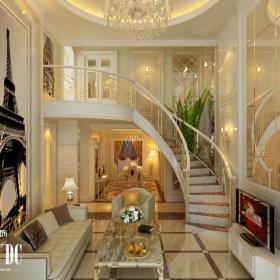 欧式奢华客厅设计案例展示