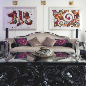 混搭混搭风格客厅设计图