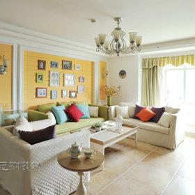 韩式客厅装修案例