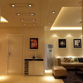 现代玄关一居室玄关柜图片