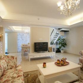 田园客厅沙发单人沙发设计方案
