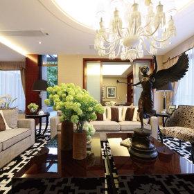 现代现代风格客厅案例展示