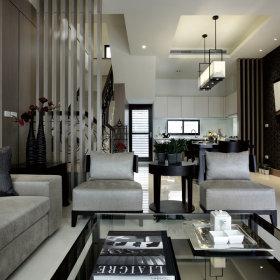 现代客厅别墅装修图
