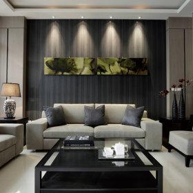 现代客厅别墅案例展示