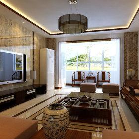 中式客厅沙发案例展示