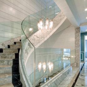 欧式别墅楼梯效果图