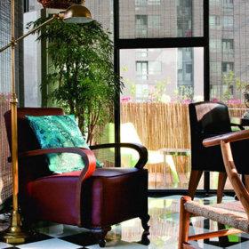美式混搭复式楼椅子椅设计案例展示