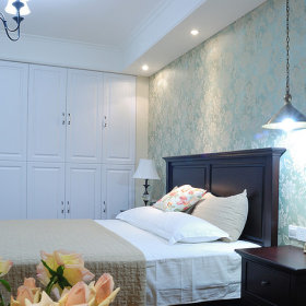 美式美式风格卧室图片