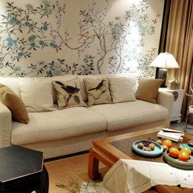 中式客厅沙发客厅沙发设计案例