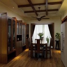 中式简约中式风格餐厅图片