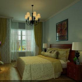美式美式风格卧室案例展示