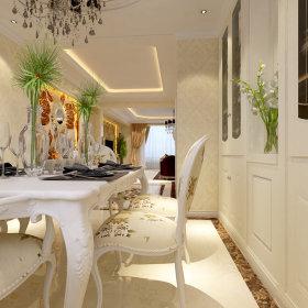欧式欧式风格餐厅别墅设计图