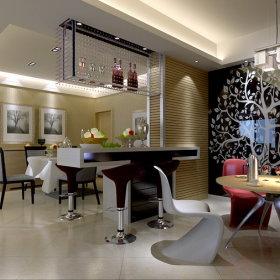 现代现代风格客厅设计图