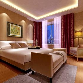 现代现代风格卧室装修案例