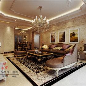 欧式欧式风格客厅背景墙沙发客厅沙发设计方案